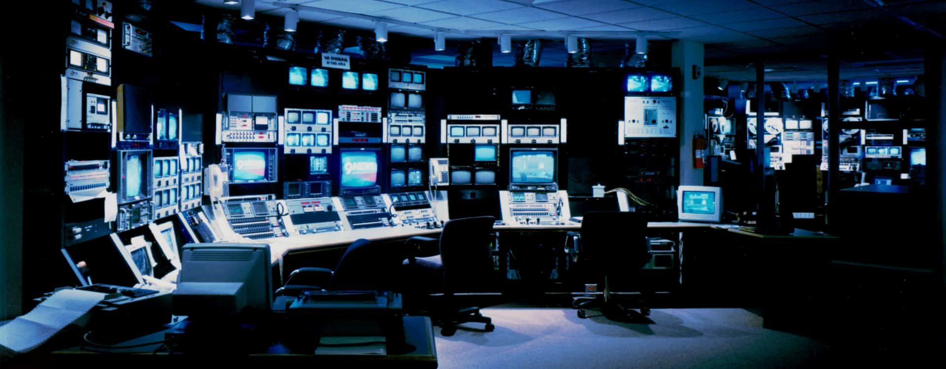 Channel 9 TV broadcast studios by DLAA, D L ADAMS ASSOCIATES, Audio Visual & low voltage consulting, USA