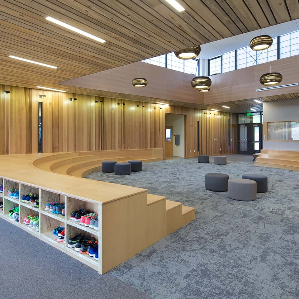ASPEN COMMUNITY SCHOOL, Woody Creek, CO Acoustics by D L ADAMS ASSOCIATES DLAA, Denver Colorado, USA