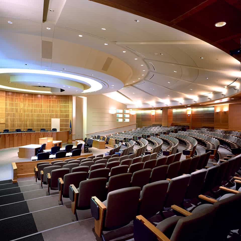 AURORA MUNICIPAL CENTER, Aurora, CO DLAA, D L ADAMS ASSOCIATES, government and civic acoustical consulting, USA