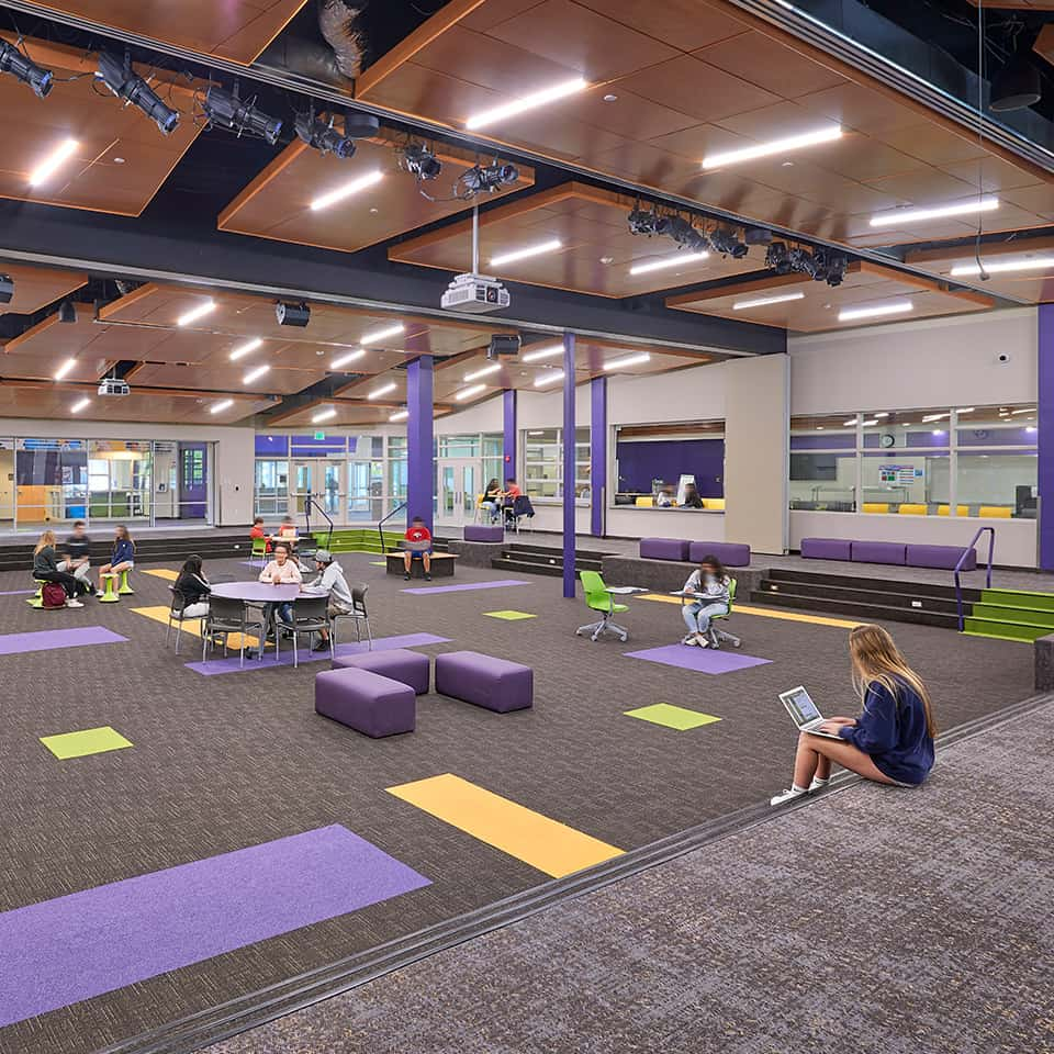 BASALT HIGH SCHOOL, Basalt, CO Acoustics by