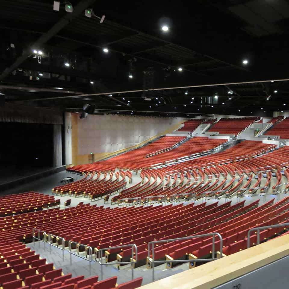 COLORADO CONVENTION CENTER & BELLCO THEATRE, Denver, CO Acoustics by DLAA, D L ADAMS ASSOCIATES, Acousticians, performing arts - cultural planning and design consultants, USA
