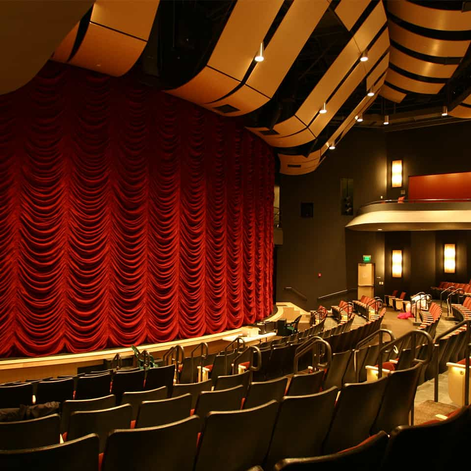 DAVIS CENTER FOR THE PERFORMING ARTS, Centerville, UT DLAA, D L ADAMS ASSOCIATES, Acousticians, performing arts - cultural planning and design consultants, USA