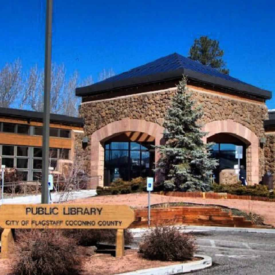 FLAGSTAFF PUBLIC LIBRARY, Flagstaff, AZ DLAA, D L ADAMS ASSOCIATES, government and civic acoustical consulting, USA