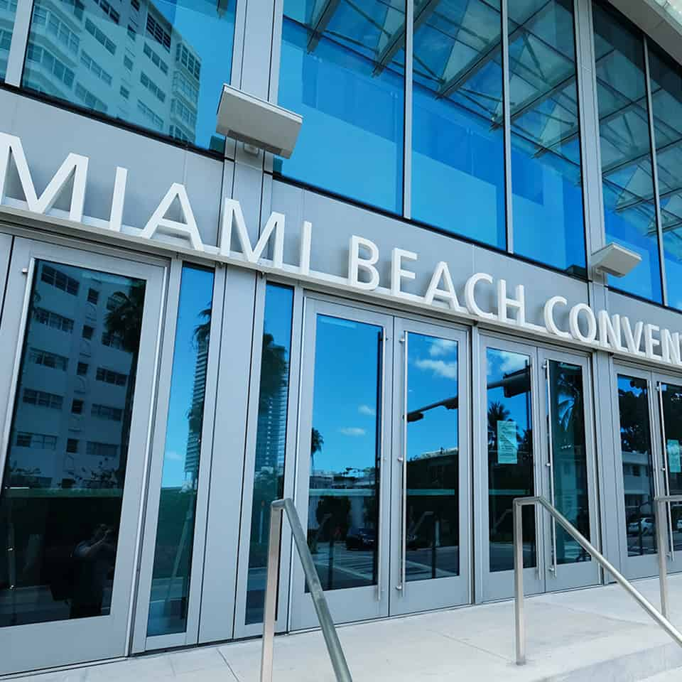 MIAMI BEACH CONVENTION CENTER, Miami Beach, Florida D L Adams Associates the United States leading acoustic consultants and engineering firm specializing in acoustic design, noise control and vibration control for government agencies, and civic needs.