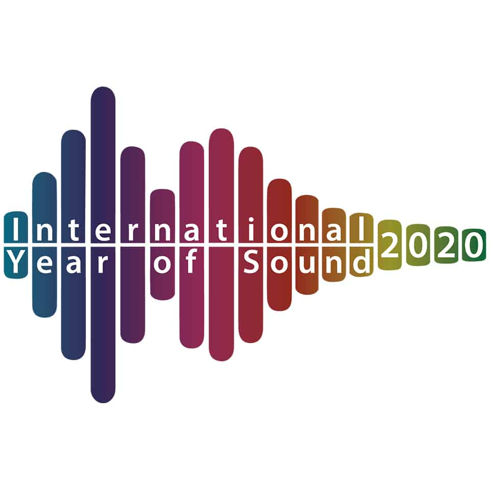 International Year of Sound 2020 Graphic