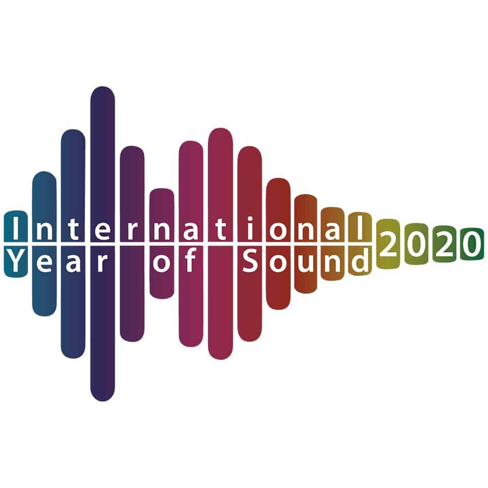 International Year of Sound 2020 Graphic